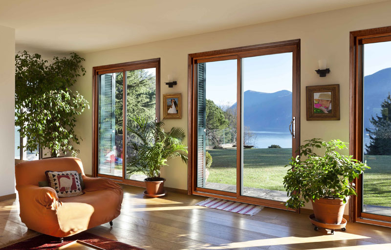 Gerkin Windows Amp Doors 4400 Wood Interior Sliding Glass