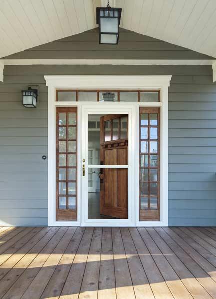 Gerkin Windows Amp Doors Uniquely Yours Aluminum Storm Doors