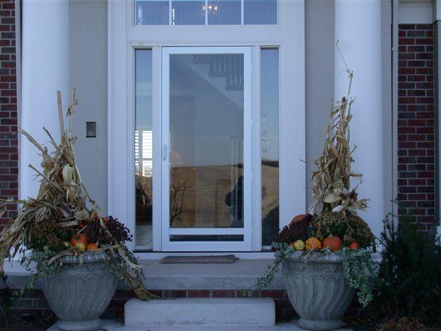 front storm doorsGerkin Windows  Doors  Cabrio Aluminum Storm Doors