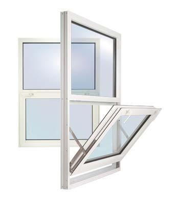 Gerkin Windows & Doors - 5200 Hopper Aluminum Window