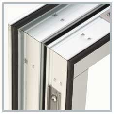 Reinforced Power Crimped Sash Corners